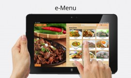 e-Menu: Aplikasi Buku Menu Digital
