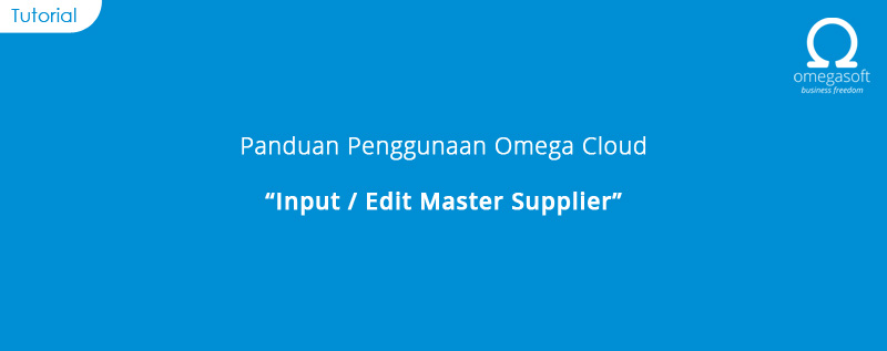 Input Order Master Supplier