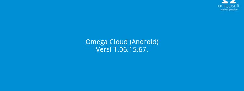 Update Omega Cloud Android Versi 1.06.15.67.